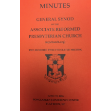 ARP 2016 Synod Minutes