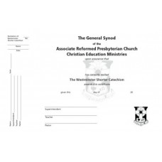Certificate of Memorization of the Children's Catechism