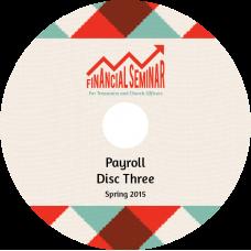 Financial Seminar 2015 DVD 3: Payroll