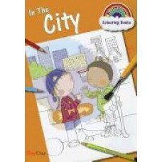 In the City Coloring Book