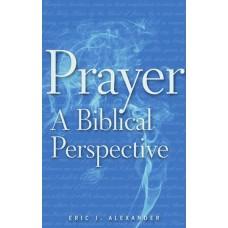Prayer: A Biblical Perspective